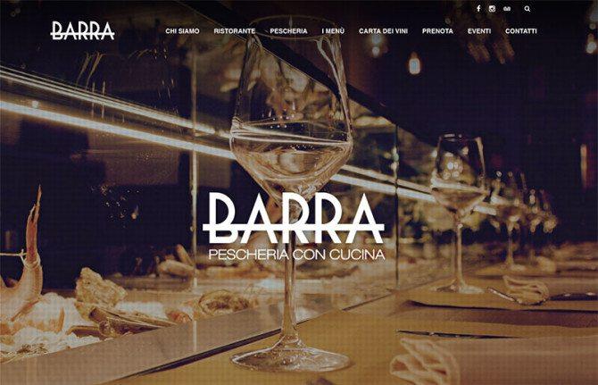 Creazione sito web pescheria ristorante