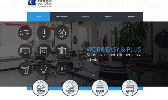 Realizzazione sito web impianti allarme
