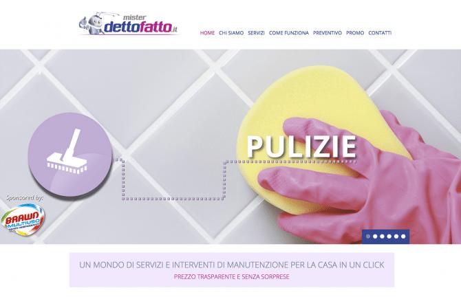 misterdettofatto.it sito internet di servizi professionali per la casa