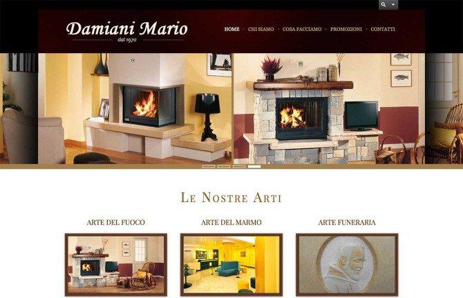 realizzazione sito web marmista