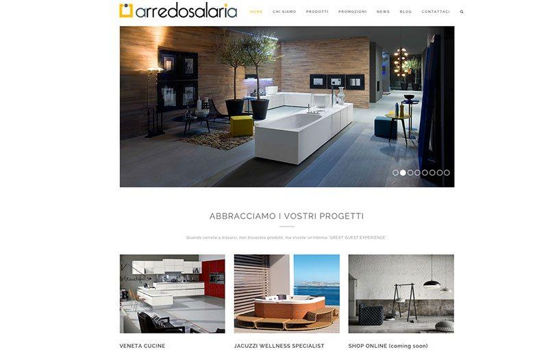 Sito web per negozio arredamento design wordpress - Siti design arredamento ...
