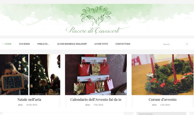 restyling blog personale