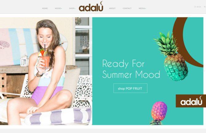 realizzazione sito web ecommerce Surf bikini