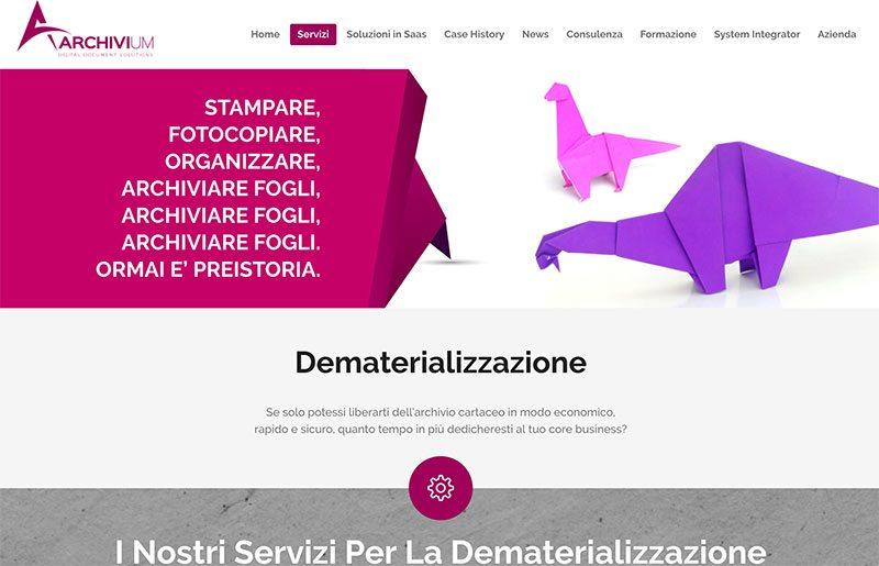 landing page dematerializzazione