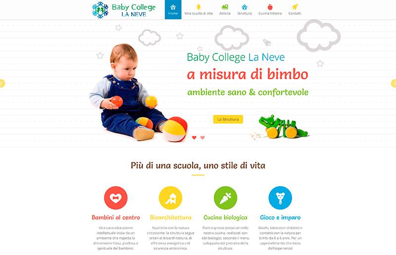 creazione sito internet asilo nido scuola materna