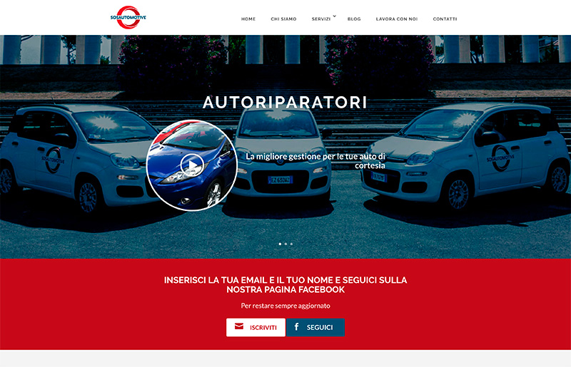 creazione sito web automotive