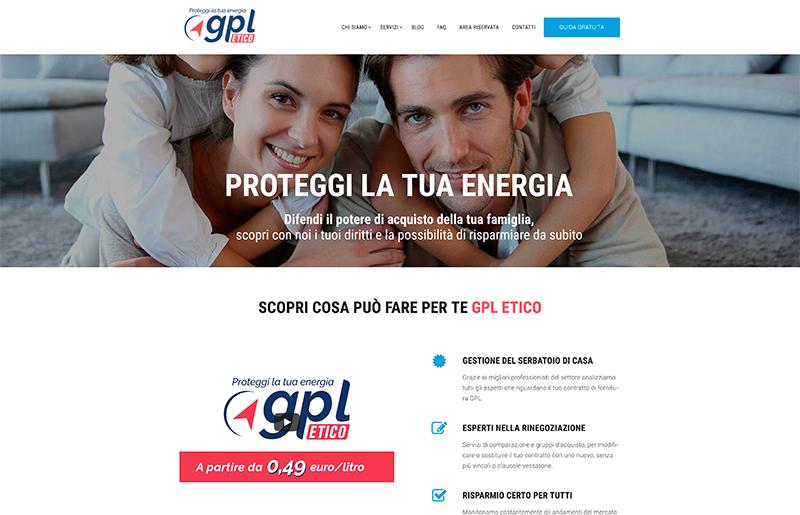 Sito web azienda GPL